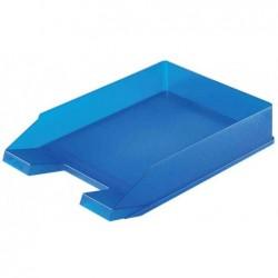 HERLITZ Lot de 5 bac à courrier, en polystyrène,turquoise translucide