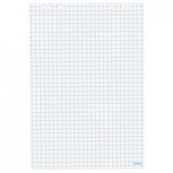 HERLITZ Bloc Papier recyclé Paperboard 20f 80g 68 x 99 cm Quadrillé par 5