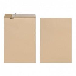 HERLITZ pochettes d'expédition B4, auot-adhésives, brun