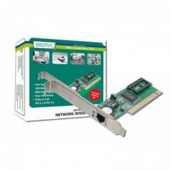 DIGITUS Carte PCI adaptateur fast Ethernet RJ45, 200MBit/sec
