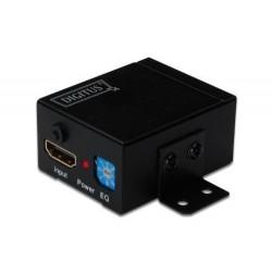DIGITUS amplificateur de signaux HDMI, 35 m d'autonomie, noir