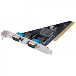 DIGITUS Carte PCI RS-232 série, 2 ports, 64 Bit