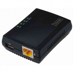 DIGITUS Mini Serveur d'impression multifonctions, 1 x USB2.0