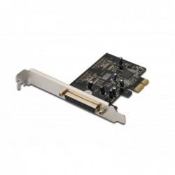 DIGITUS Carte PCI Express parallèle, 1 port + Low Profile