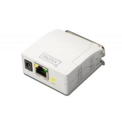 DIGITUS Serveur d'impression Fast Ethernet, parallèle