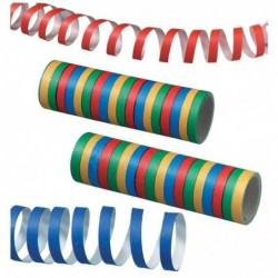 SUSY CARD Lot de 2 rouleaux serpentin, en papier, 4 couleurs