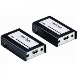 ATEN Set d'éxtenseur HDMI portée 60 m noir/blanc