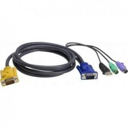 ATEN Câble KVM 2L-5302UP -...