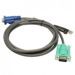 ATEN jeu de câble KVM USB pour KVM Switch CS-1708/1716, 3 m