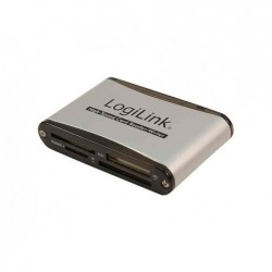 LOGILINK Lecteur de carte USB 2.0, 56 en 1, externe, noir