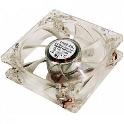LOGILINK Ventilateur de boîtier 120 x 120 x 25 mm Acrylique