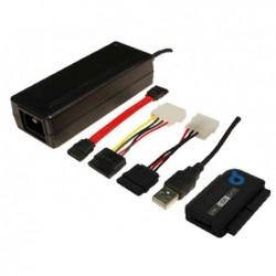 LOGILINK câble adaptateur USB 2.0 SATA et IDE, longueur 1,2 m