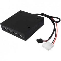 """LOGILINK USB 2.0 Hub pour baie de PC 3,5"""", 4 ports"""