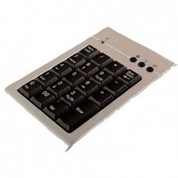 LOGILINK Pavé numérique USB 2.0, avec câble de connexion, 19 touches