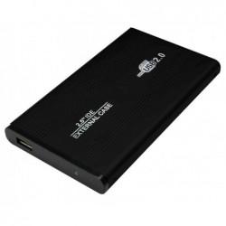 """LOGILINK boîtier aluminium USB 2.0 pour disque dur IDE 2,5"""","""