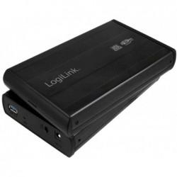 "LOGILINK Boîtier aluminium USB 3.0 pour disque dur SATA 3,5"""