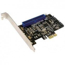 LOGILINK Serial ATA + carte PCI express IDE, 2 + 1 ports