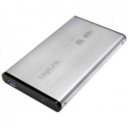 "LOGILINK boitier disque dur LogiLink 2,5"" SATA, USB 3.0, argent"