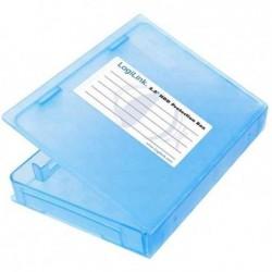 """LOGILINK Box pour disques durs externes 2,5"""" Bleu"""