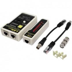 LOGILINK testeur de câble logilink RJ11,RJ12,RJ45 et BNC
