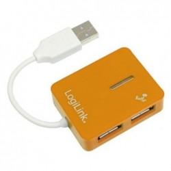 LOGILINK Hub USB 2.0 Smile 4 ports Orange