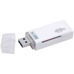 LOGILINK mini Card Reader USB 3.0, blanc