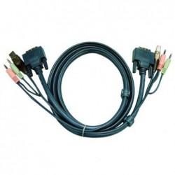 ATEN Câble KVM 2L-7D02U -...
