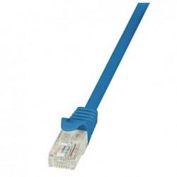 LOGILINK Câble réseau Cat5e UTP AWG26 1 m Bleu