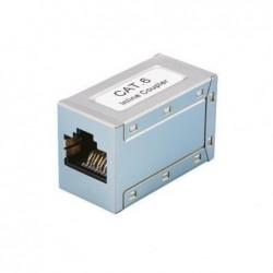 LOGILINK Adaptateur Coupleur Ethernet Cat 6a RJ45 Argent