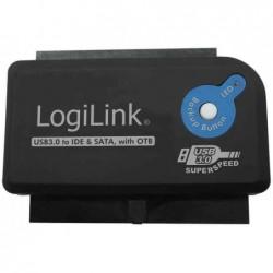 LOGILINK Adaptateur USB 3.0 - IDE & SATA avec fonction OTB