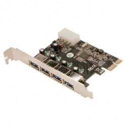 LOGILINK Carte PCI Express USB 3.0, 4 ports 3.0 5 Gbps