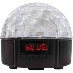 LOGILINK Haut-parleur Bluetooth 2 x 4 Watt Disco Lumineux