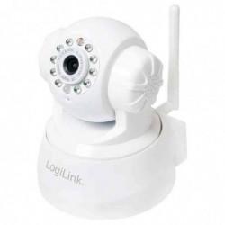 LOGILINK Caméra IP WiFi Pan/Tilt, blanc