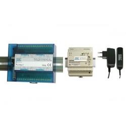 W&T adaptateur secteur 100 240 V,50-60 Hz, 24V/22 A DC (D)
