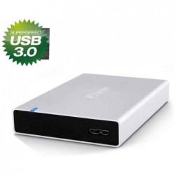 """FANTEC Boîtier pour disque dur SATA 2,5"""" USB 3.0, haut. 15mm"""