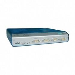 W&T serveur COM Highspeed Office, 4 ports, RJ45 10/100BaseTX