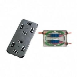 TELEGÄRTNER boîte d'epissures micro,4 x connecteur SC duplex