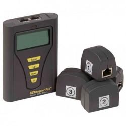 HOBBES testeur réseau & câble NETmapperPro, 2 ports RJ45