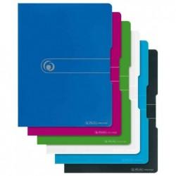HERLITZ Protège-documents easy orga to go A4 20 pochettes Bleu