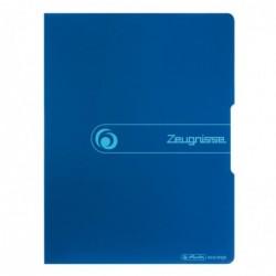 HERLITZ Protège-documents easy orga to go 10 pochettes 20 vues Bleu