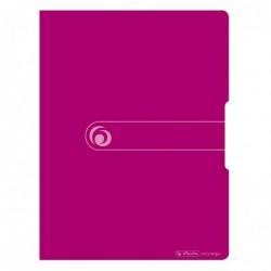 HERLITZ Protège-documents Easy orga to go A4 20 pochettes Rose