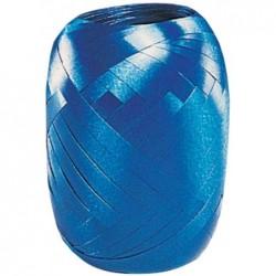 SUSY CARD Ruban en pelote, lisse, 5 mm x 20 m, bleu foncé