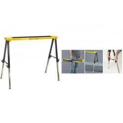 BRENNENSTUHL tréteau de travail pliable MB 120 KH,noir/jaune