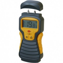BRENNENSTUHL Humidimètre MD Jaune / Anthracite affichage LCD
