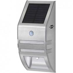 BRENNENSTUHL Lampe LED murale solaire SOL WL-02007 avec capteur de mouvement Acier