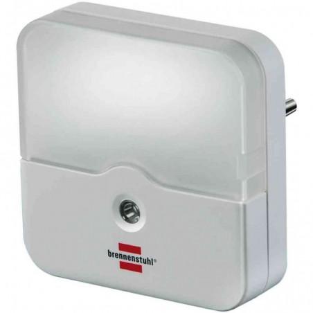 BRENNENSTUHL Veilleuse LED carrée à Détecteur obscurté OL 02E Blanc