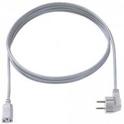 BACHMANN Cable electrique Schuko, un cote coude,