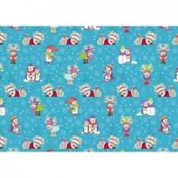 """SUSY CARD Papier d'emballage de Noël """"Snow & Fun """""""