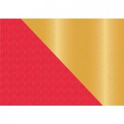"""SUSY CARD Weihnachts-Geschenkpapier """"rot/gold"""", Rolle"""