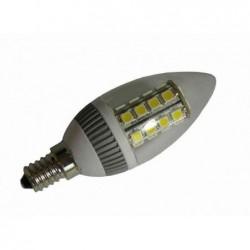 DIODOR lampe LED 26 diodes SMD bougie, 3,8 Watt, culot: E14